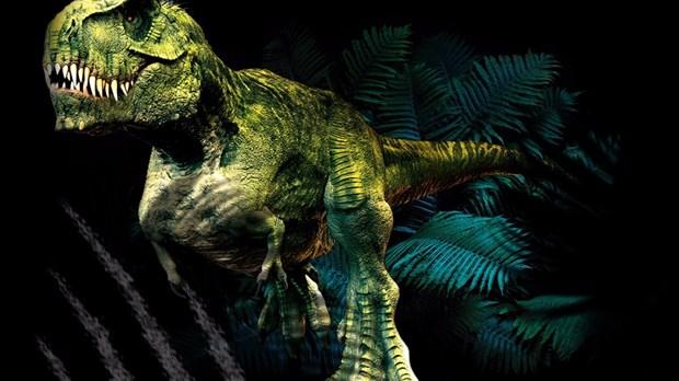 Les dinosaures envahissent les avenues vaudreuil for Aubainerie decoration