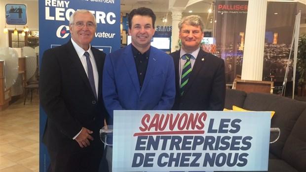 Le candidat conservateur dans lac st jean r my leclerc for Gilles emond meuble