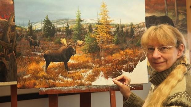 Orignal Un Géant Fragile Une Exposition à Voir De La Peintre
