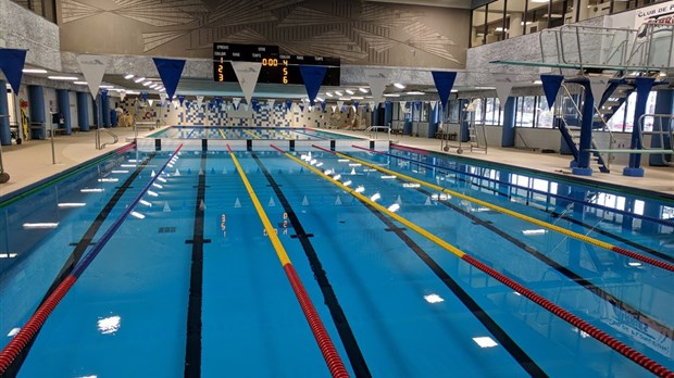 R ouverture de la piscine du c gep de jonqui re apr s des for Cegep jonquiere piscine